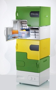 "The modular ""Flat-Share"" Fridge!"