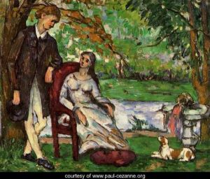 "Cezanne's ""Couple In a Garden"""